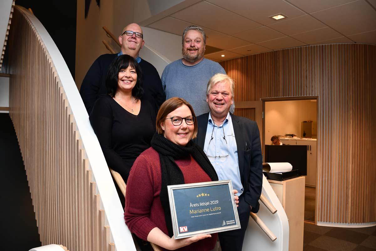 2019 - Årets ildsjel i Kragerø
